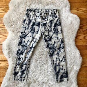 Lululemon Wunder Under Tie Dye Cropped Pants